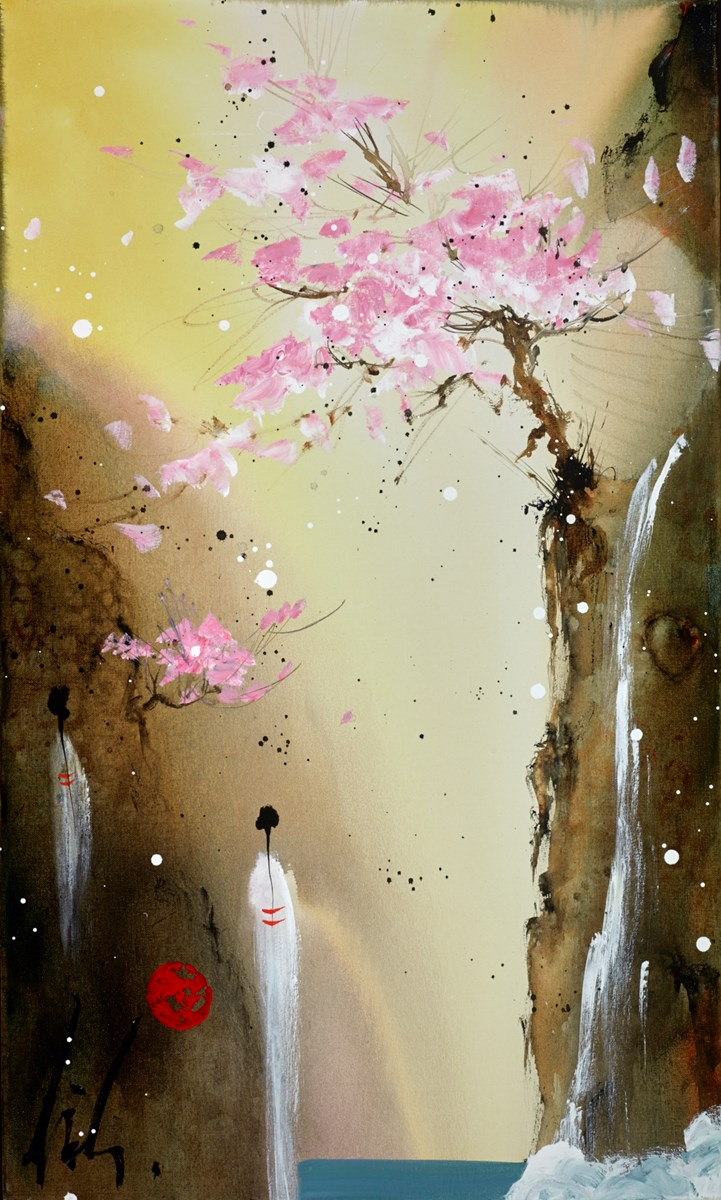 Beautiful Vision II by danielle o'connor akiyama -  sized 18x30 inches. Available from Whitewall Galleries